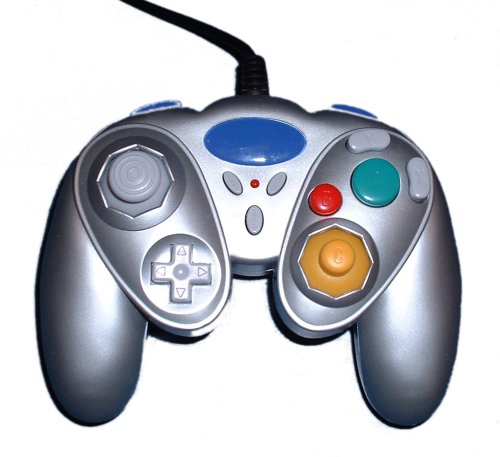 Large picture of GameCube controller (budget, platinum)