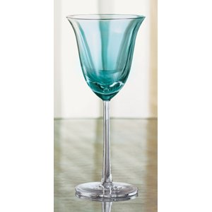 Large picture of 4-piece wine glass set (blue)
