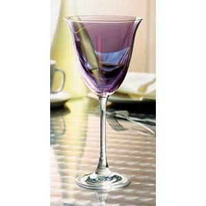 Large picture of 4-piece wine glass set (purple)