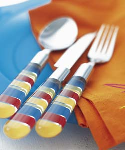 Large picture of Mediterrania cutlery set