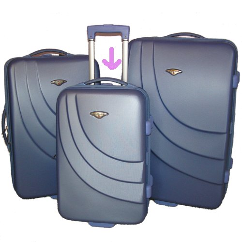 Large picture of Blue suitcase (small)