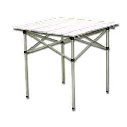 Large picture of Folding aluminium table
